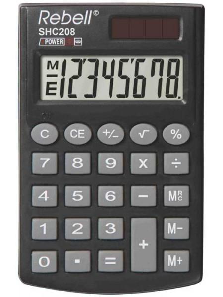 Rebell Калькулятор карманный  8-разрядный SHC200N