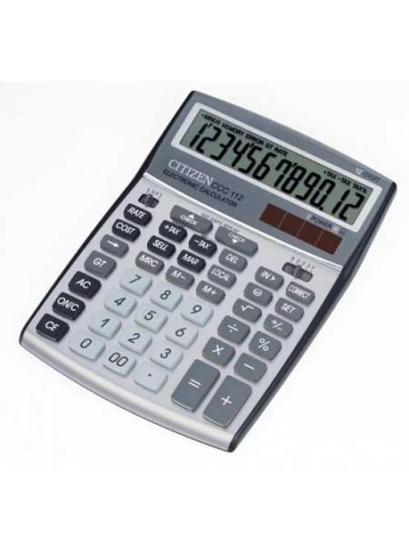 CITIZEN Калькулятор настольный 12-разрядный ССC-112WB