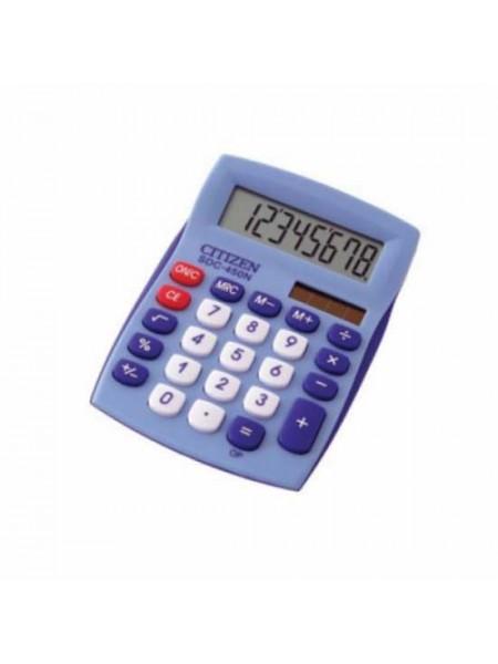 CITIZEN Калькулятор карманный  8-разрядный SDC-450N