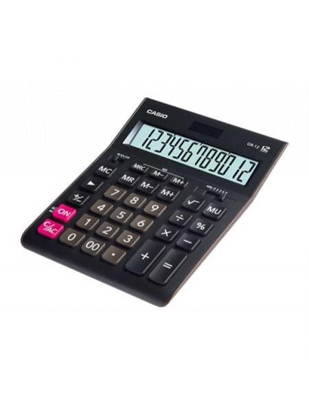 Casio Калькулятор настольный 12-разрядный GR-12