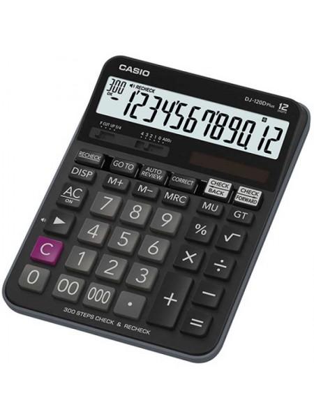 Casio Калькулятор настольный 12-разрядный DJ-120DPLUS