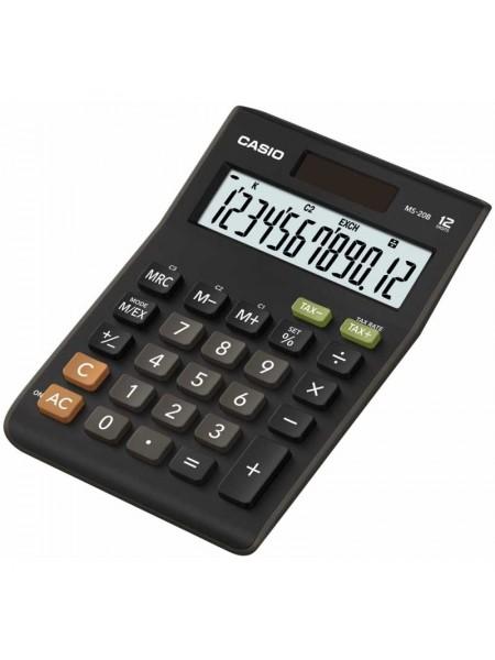 Casio Калькулятор настольный 12-разрядный MS 20В-S