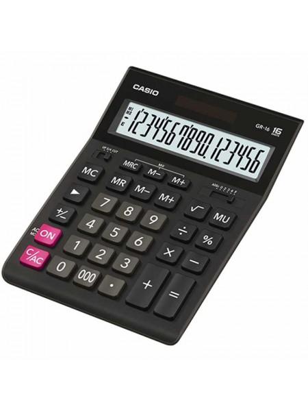 Casio Калькулятор настольный 16-разрядный GR-16