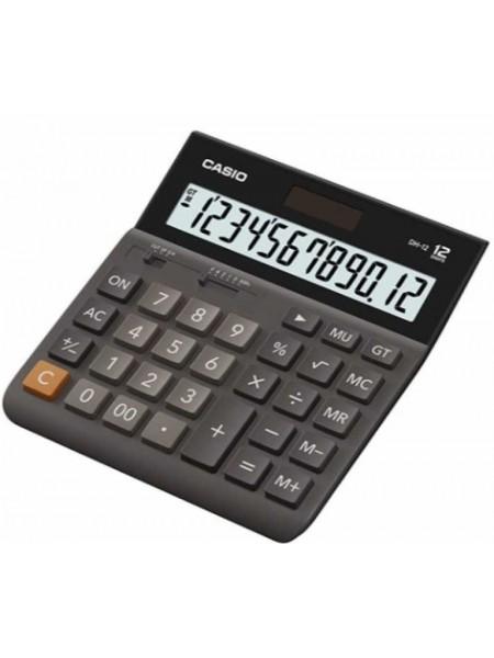 Casio Калькулятор настольный 12-разрядный DH-12