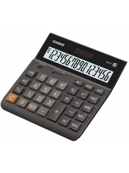 Casio Калькулятор настольный 16-разрядный DH-16