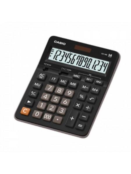 Casio Калькулятор настольный 14-разрядный GX-14B