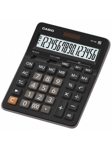 Casio Калькулятор настольный 16-разрядный GX-16B