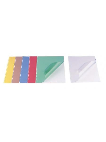 ARGO Обложка для переплета ПВХ A4, 200mic (100 шт.), прозрачно-тонированный пластик