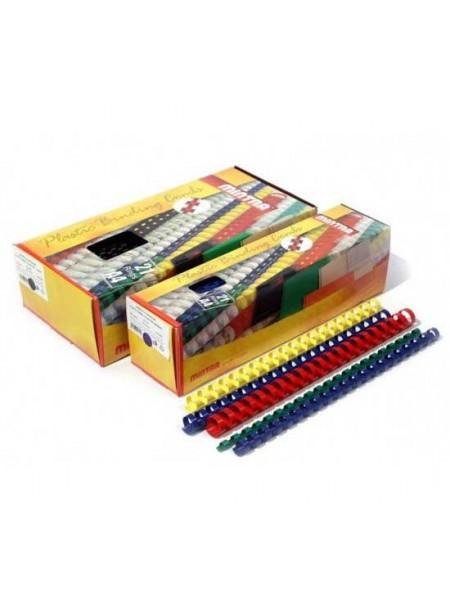 ARGO Пружины пластиковые для переплета 12.5 мм, 100 шт., до 95 листов