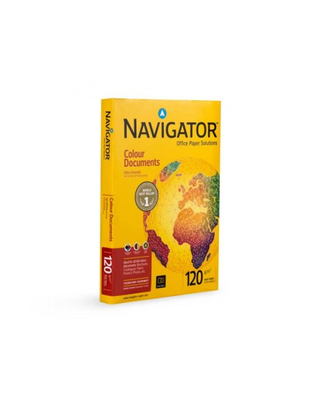 Бумага Navigator Colour Doc A4, 120 г/м2, 250 л.