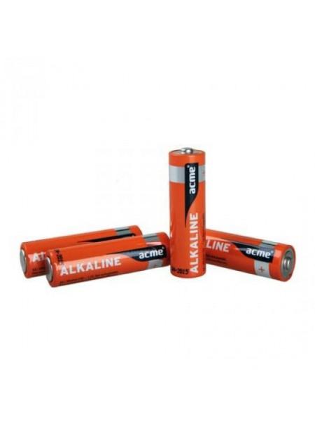 Acme Батарея гальваническая щелочная (alkaline) AAA, LR3, 6шт
