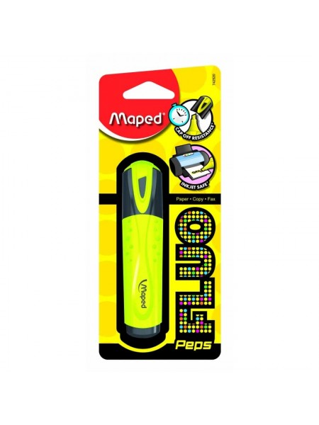 MAPED Маркер текстовый Fluo Peps, блистер