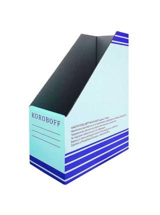 KOROBOFF Накопитель вериткальный из белого гофрокартона ширина 100 мм