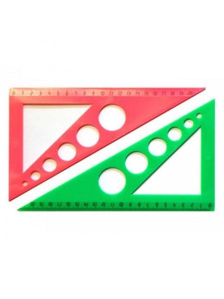 ЮНИ  Треугольник 30*60