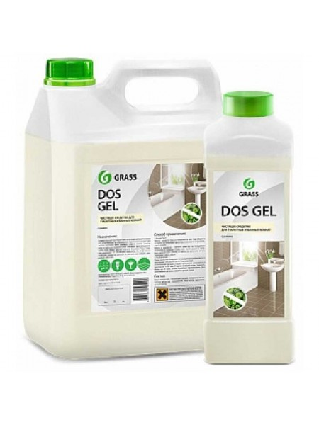 GRASS Средство дезинфицирующее DOS GEL с эффектом отбеливания, 750 мл