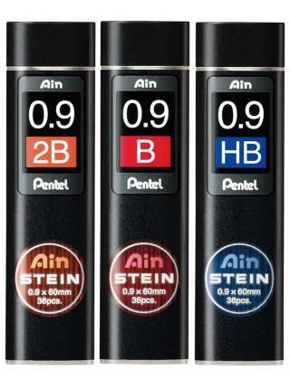 """PENTEL Грифели для автоматического карандаша """"AinSTEIN"""" (супер прочные), 36 шт/уп"""