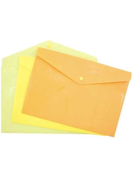 FORPUS Папка-конверт на кнопке BAROCCO, A4