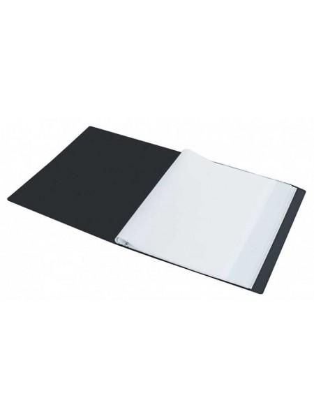 """SILWERHOF Папка для проспектов с 40 прозрачными вкладышами """"Basic"""" A4 0.5мм"""