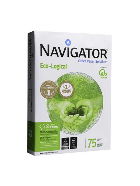 Бумага Navigator Eco-Logical A4, 75 г/м2, А-класс