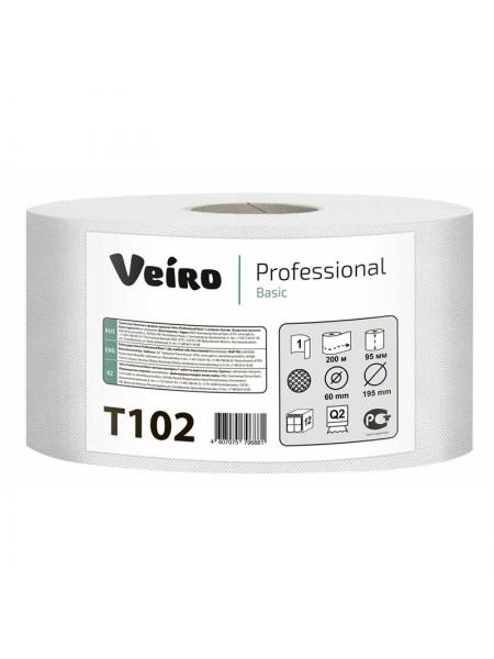 Veiro Бумага туалетная Professional Basic, 200 м. со втулкой