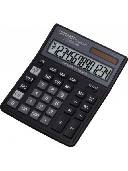 CITIZEN Калькулятор настольный 14-разрядный SDC-414 N