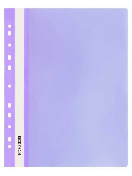 ECONOMIX Папка евро-скоросшиватель c боковой перфорацией A4