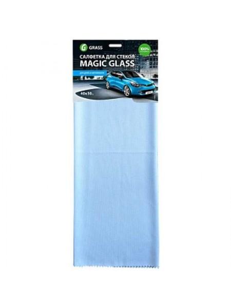 GRASS Салфетка из микрофибры для окон и стекла Magic Glass, 10 шт/уп