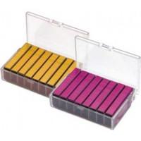 KANGARO Скобы для степлера №24 цветные, 800шт/уп.