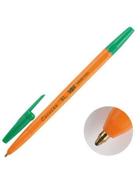 "Universal Ручка шариковая ""Corvina"" зеленая, 1 мм"