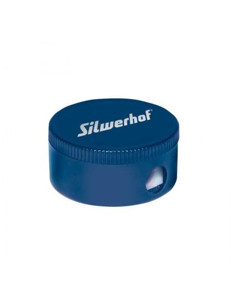 SILWERHOF Точилка для карандашей, пластиковая с контейнером, одно отверстие