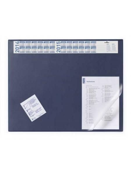 DURABLE Бювар с поднимающимся верхом 52х65 см, темно-синий