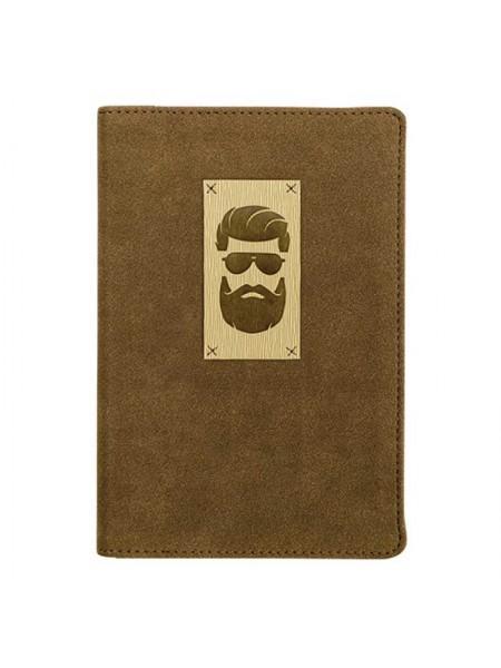 """InFolio Ежедневник недатированный А6+ """"Beard"""""""